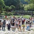 大人気。中ノ島公園