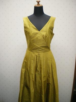 ドレスのリメイク(after)