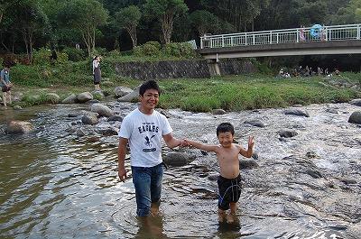 川遊び初体験2